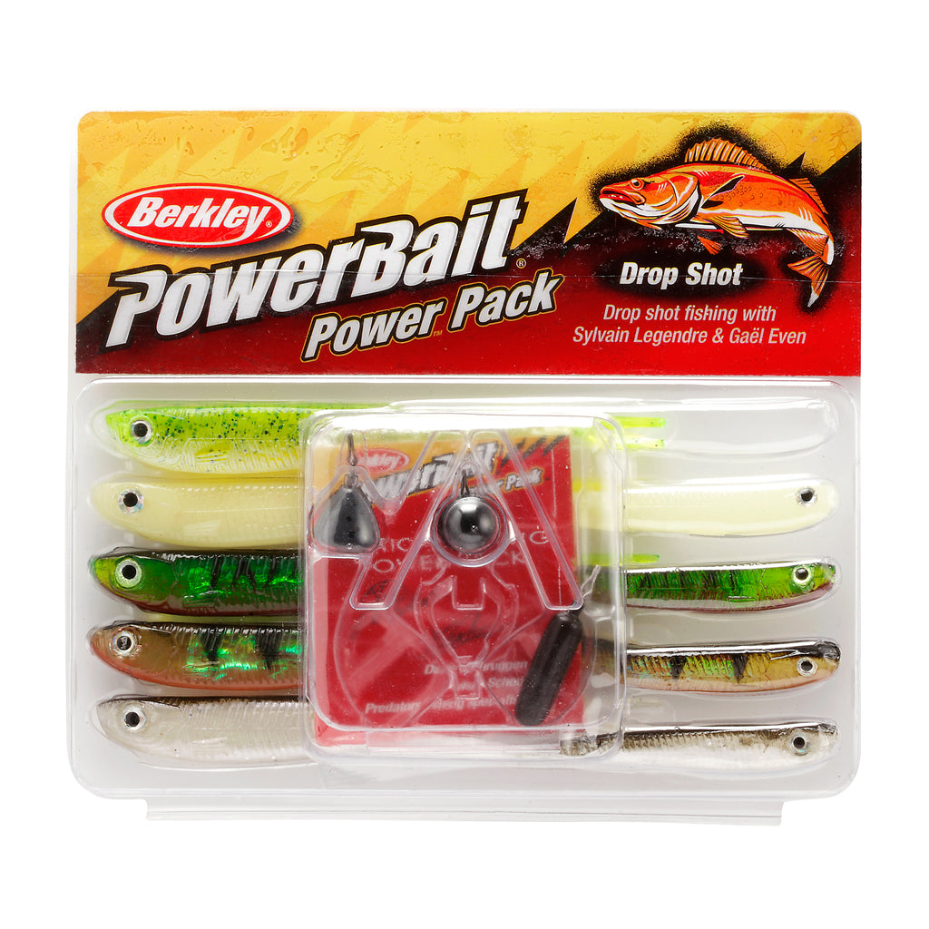 Lure - Berkley PowerBait Pro-Pack Drop Shot 10 pieces in pack.