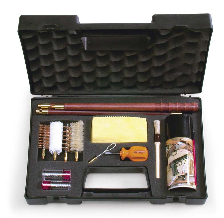 Open Season 12 Gauge Complete Shotgun Cleaning Kit in Plastic Carry Case - Online Hunting Accessories OpenSeason.ie