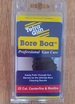 Gun Cleaning Tetra Pull Through Bore Snake - .22 Calibre Centrefire & Rimfire