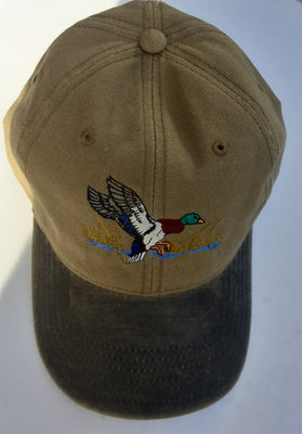Otto Shooting Baseball Cap with Landing Duck Motif
