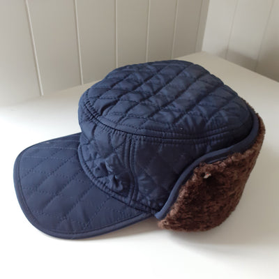 Hawkins Quilted Sherpa Wool-Lined Trapper Hat - Unisex