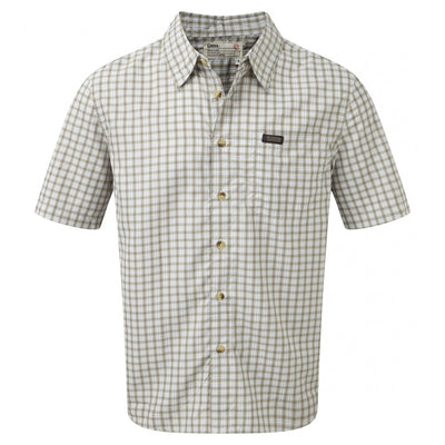 Keela Men's Havana Travel Shirt - Hessian Check - OpenSeason.ie