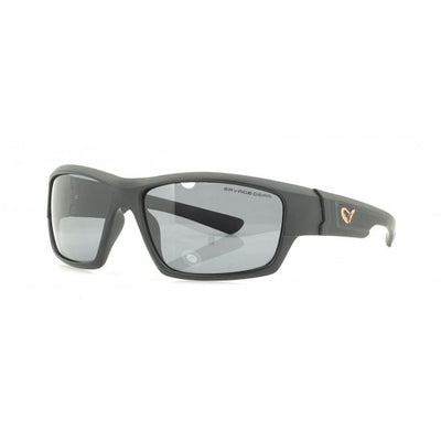 Savage Gear Shades Floating Polarised Sunglasses - Dark Grey (Sunny Conditions) - Fishing Tackle & Outdoors