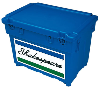 Fishing Tackle in Ireland - Shakespeare's iconic blue Seat Box for Coarse or Sea Fishing