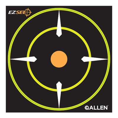 Allen Adhesive Bullseye Target - Shooting, Hunting and Outdoors at OpenSeason