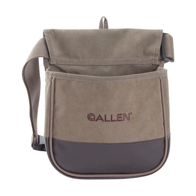 Allen Heavy Canvas Double Cartridge Bag Adjustable Shoulder Strap - Shooting Accessories at OpenSeason.ie