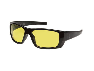 Kinetic Baja Snook Polarised Sunglasses - Black Frame/Yellow Lens - OpenSeason.ie Irish Outdoor Shop