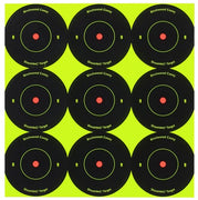 "Birchwood Casey SHOOT-N-C Bullseye Targets - 2"" Air Rifle Target Shooting"