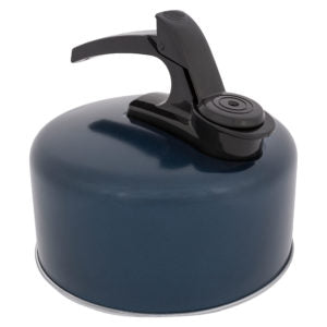 Camping Cookware - Aluminium Whistling Camping Kettle - 1 or 2 Litre