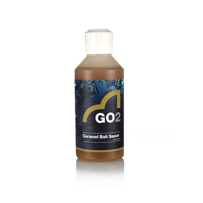 Coarse Fishing Attractant - SpottedFin Go2 Bait Sauce Fish Attractant - 250ml - Caramel