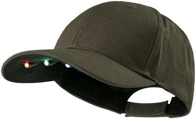 Deerhunter Baseball Cap with Integrated LED Light