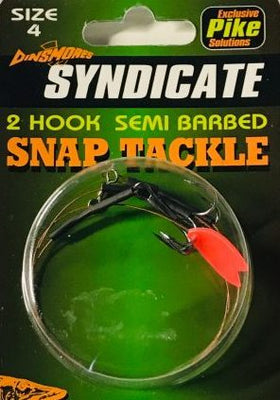 Dinsmores Syndicate Snap Tackle 20lb - Pike Fishing Tackle at OpenSeason.ie