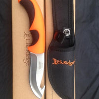 "Elk Ridge Fixed Blade Hunting Knife - 9.25"" Blade Gut Hook"