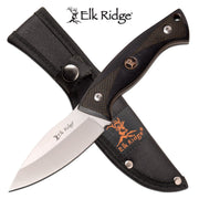 Elk Ridge Fixed Blade Pakkawood Knife - 8""