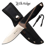 Elk Ridge Fixed Blade Hunting Knife - 8.75""