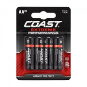 Coast Extreme Performance AA Batteries  4 Pack