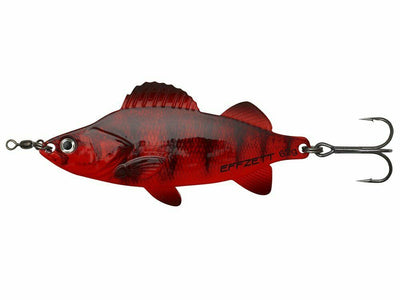 DAM Effzett Perch Spoon - Blood Perch