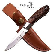 Elk Ridge Fixed Blade Hunting Knife - 8""