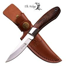 Elk Ridge Fixed Blade Hunting Knife - 8