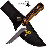 Elk Ridge Fixed Blade Hunting Knife - 7""