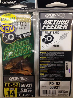 Fishing Tackle - Owner Method Feeder Pellet Band - #14