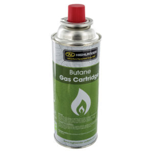 Highlander 227g Butane Gas Cartridge for Camping Stoves