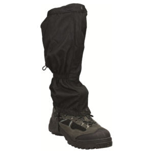 Highlander Classic Walking Gaiters - Black -  Hiking, Hunting, Hillwalking