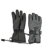 Highlander Fleece-Lined Mountain Gloves - Thinsulate - Charcoal Grey