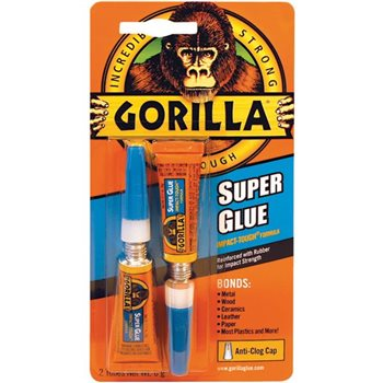 Gorilla Superglue Quick Drying & Super Strong with Added Flexibility