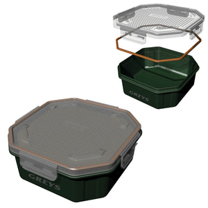 Grey's Klip-Lok Bait Box with Perforated Lid