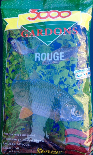 Fishing Tackle Coarse Fishing Groundbait - Gardons 3000 Red Roach