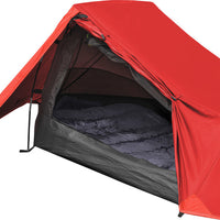 Highlander Blackthorn XL 1 Man Easy-Pitch Tent Front View