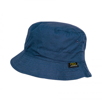 Highlander Lightweight Cotton Bucket Sun Hat Navy