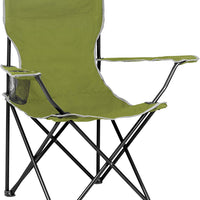 Highlander Traquair Camp Chair - Olive - Ideal for Fishing, Camping, Back Garden, BBQ