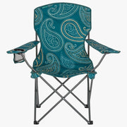 Highlander Stirling Camping Chair - Paisley Teal - Camp & Outdoors at OpenSeason.ie