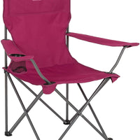 Highlander Traquair Folding Chair - Berry