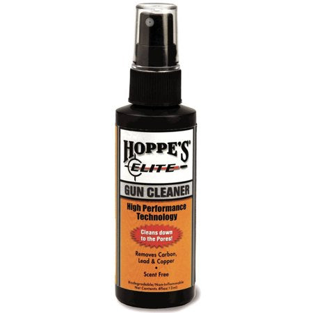 Hoppe's No. 9 Elite Gun Cleaning Solution 118ml Non-Aerosol Spray Bottle