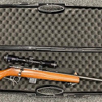 OpenSeason.ie Universal Rifle/Shotgun Hard Carry Case Holding Marlin 25MN with 3-9x40 scope