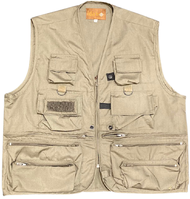 Percussion Idaho Multi-Pocket Fly Fishing Vest