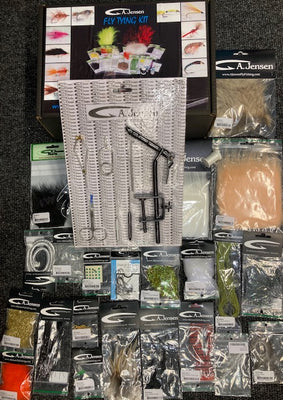 Jensen Fly Tying Kit - Sea Trout - OpenSeason.ie Irish Online Fishing Tackle Shop