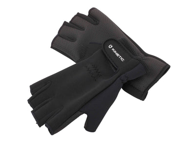 Kinetic Neoprene Half-Finger Gloves - Fishing, Angling, Hunting, Outdoor Activity