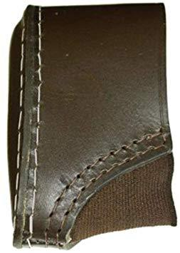 RELS Brown Leather Slip-On Rifle/Shotgun Recoil Pad