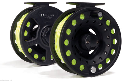 Leeda RTF (Ready To Fish) Line-Loaded Fly Reel - 5/6 & 78