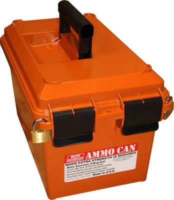 MTM Rifle Ammunition Carry/Storage/Transport Box - Bulk Orange