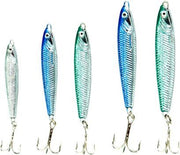 Dennett Assorted Pilchard Sea Jig Kit - 5 Pack - Sea Tackle at OpenSeason.ie