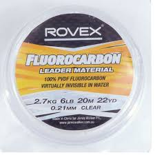 Rovex Fluorocarbon Fishing Leader Line