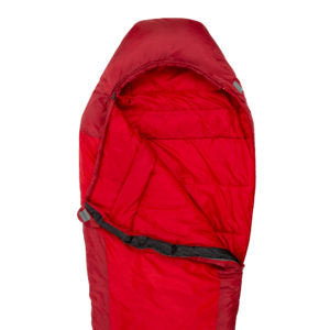 Highlander Serenity 450 Mummy-Style Sleeping Bag - Red