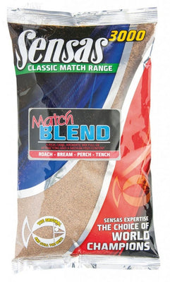 Coarse Fishing Groundbait - Sensas 3000 Match Blend - OpenSeason.ie