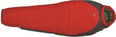 Mummy Sleeping Bag - Echo 250 Red/Grey - OpenSeason.ie camping experts