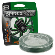 Spiderwire Braid - Stealth Smooth 8 Moss Green